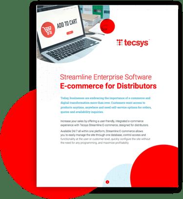 E-Commerce for Distributors Cover