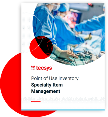Point of Use Inventory Specialty Item Management Cover