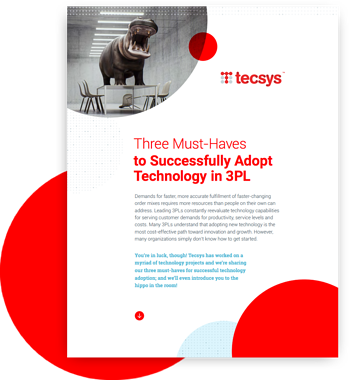 Three Must-Haves to Successfully Adopt Technology in 3PL