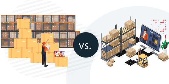 Traditional vs. Modern WMS-01